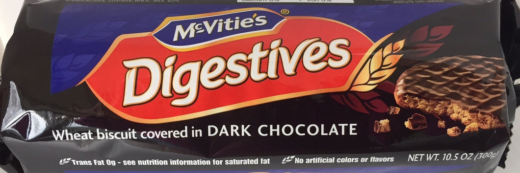McVities Digestive Dark Chocolate Roll
