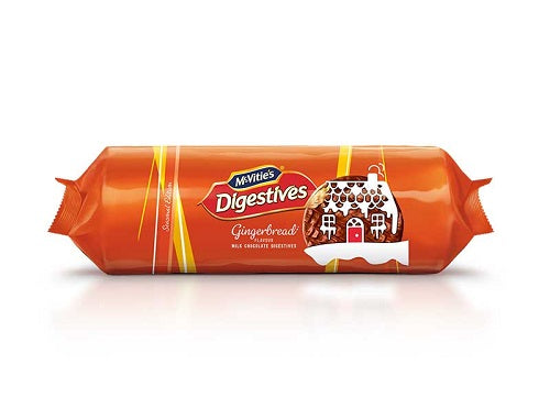 Mcvities Gingerbread Digestive Biscuit 250g -