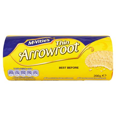 McVities Thin Arrowroot Biscuit 200g