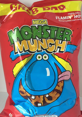 Monster Munch Flaming Hot Crisps x 6