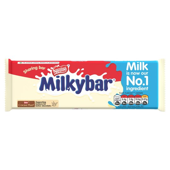 Milky Bar White Chocolate Bar 100g Large