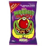 Walkers Crisps Monster Munch Pickled Onion 6 pk