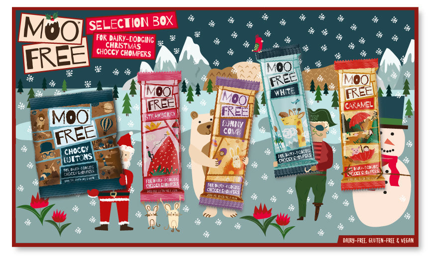 Moo Free Dairy Free Selection Box - Christmas