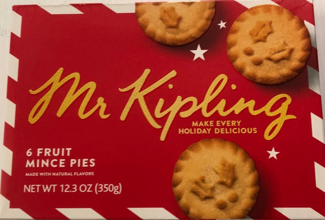 Mr Kipling Mince Pies - FRAGILE- Christmas