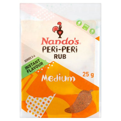 Nando Peri Peri Rub Medium 25g