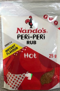 Nando's Peri Peri Rub HOT 25g