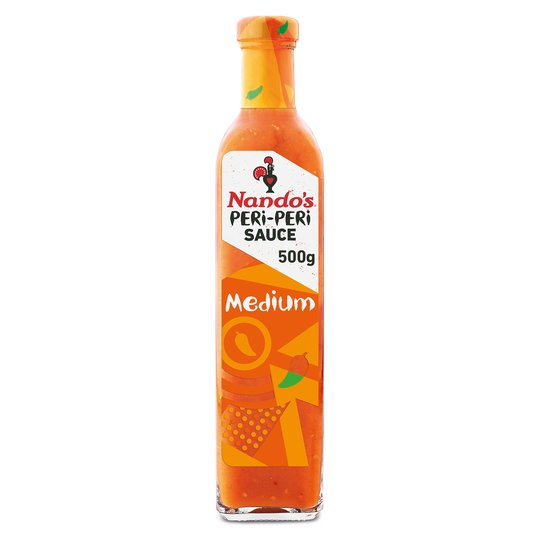 Nando Peri-Peri Medium Sauce LARGER 500g