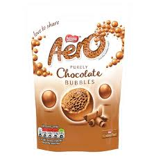 Aero Milk Chocolate Bubbles Pouch 102g