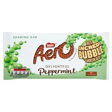 Aero Giant Bar Peppermint Milk Chocolate 100g