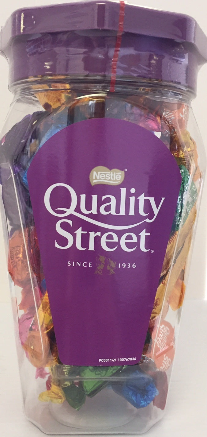 Nestle Quality Street Chocolate Jar 600g - Christmas