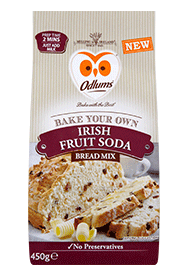 Odlums Irish Fruit Soda Bread Mix 450g