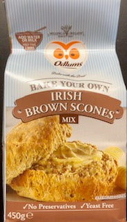 Odlums Irish Brown Scone Mix 450g