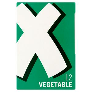 OXO Vegetable Stock Cubes (12) 71g