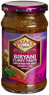 Pataks Biryani Curry Paste 10oz