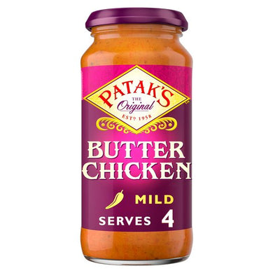 Patak's Butter Chicken Cooking Sauce 450g