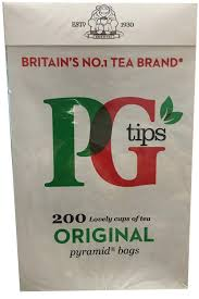 PG Tips 200 count Teabags