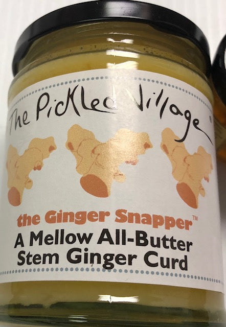 Pickled Village Ginger Snapper Curd 10.6oz ( Ginger Curd)