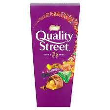 Nestle Quality Street Chocolates Carton 240g - Christmas