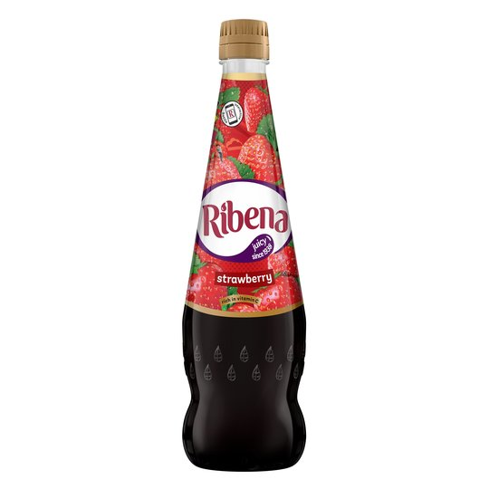 Ribena No Added Sugar Strawberry 850ml