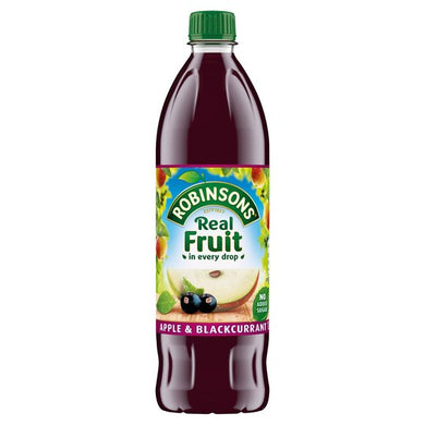 Robinsons Apple & Blackcurrant No Added Sugar Squash 1ltr