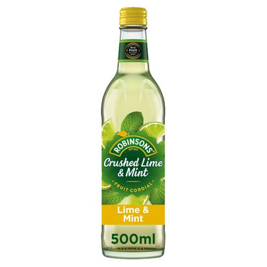 Robinsons Lime & Mint Cordial - FRAGILE