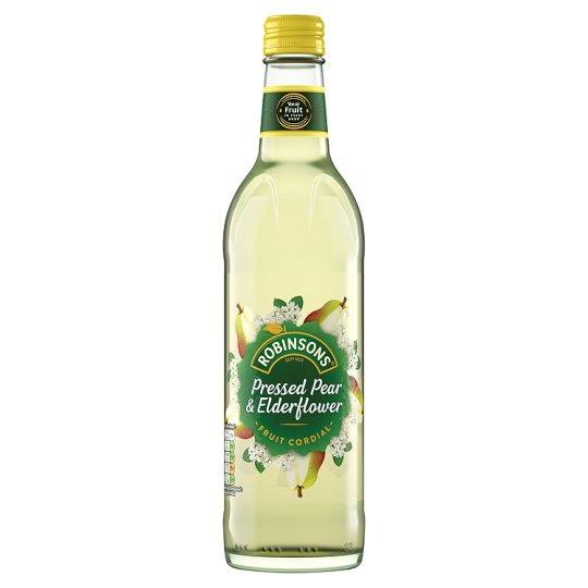 Robinsons Cordials Pear And Elderflower 500 ml FRAGILE