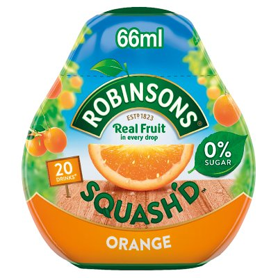 Robinsons Squash'd Orange No Added Sugar 66ml