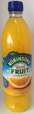Robinsons Orange Squash No Added Sugar 1ltr