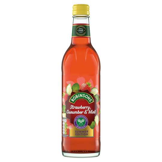 Robinsons Strawberry Cucumber Mint Cordial 500ml