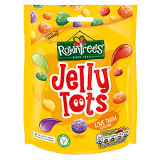 Rowntrees Jelly Tots 150g Bag