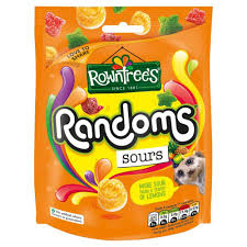 Rowntrees Randoms sours Bag 140g