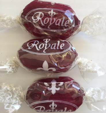 JG Blackcurrant & Liquorice Wrapped Sweets 100g Royale