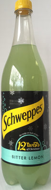 Schweppes Bitter Lemon 1 ltr Bottle