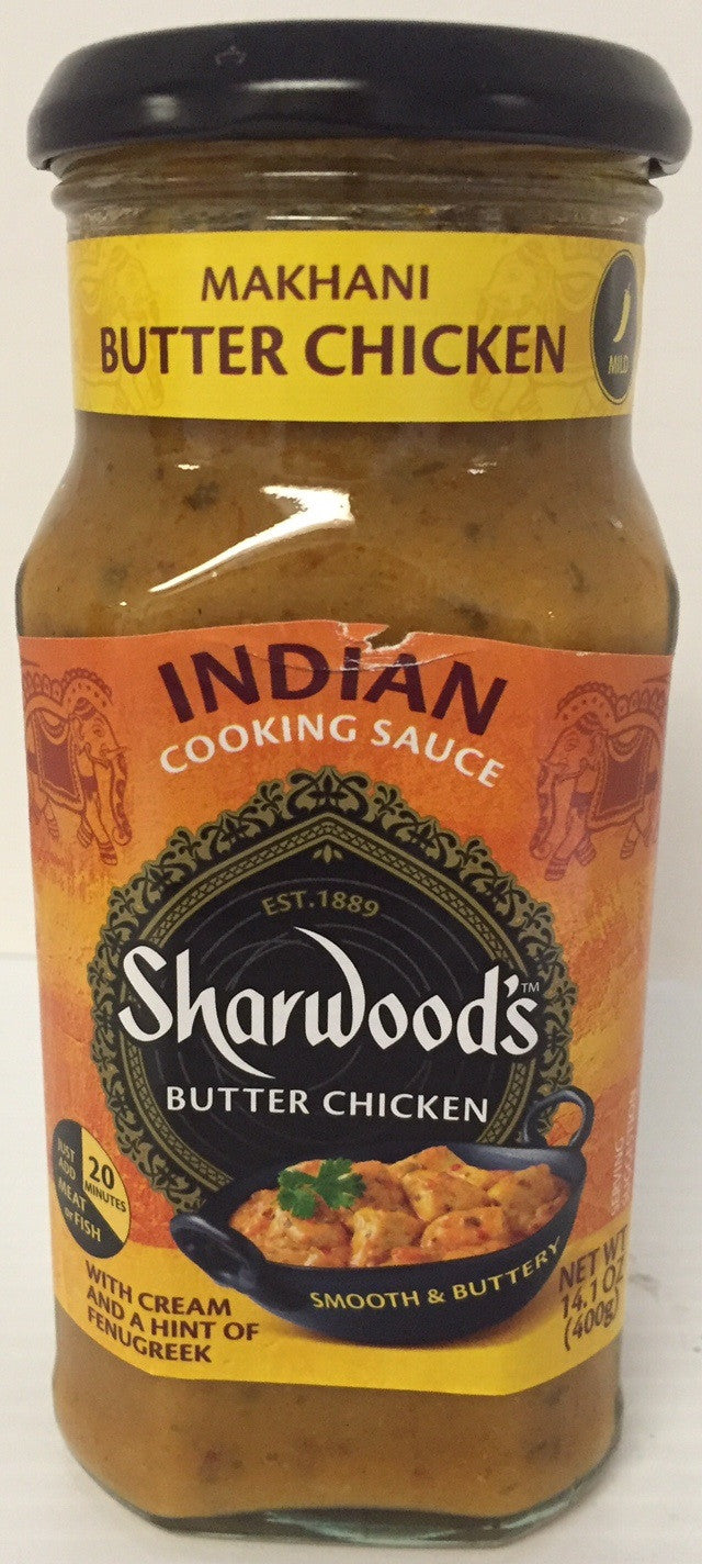 Sharwoods Makhani Butter Chicken Simmer Sauce