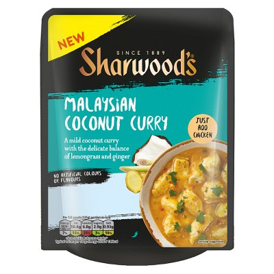 Sharwoods Malaysian coconut Curry Pouch 250g