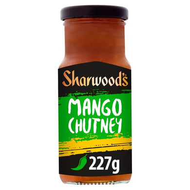 Sharwoods Mango Chutney Green Lable 227g