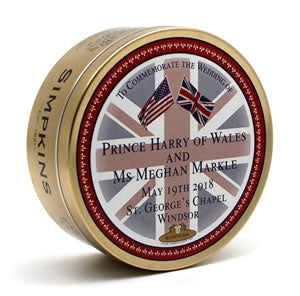 Simpkins Prince Harry & Meghan Royal Wedding Travel Sweets Tin