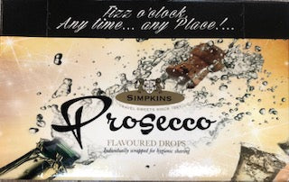 Simpkins Prosecco Flavoured Drops Carton 4.2oz
