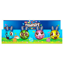 Smarties Bunny 4 Pack Easter - FRAGILE