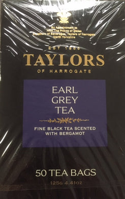Taylors of Harrogate Earl Grey Teabags 50ct