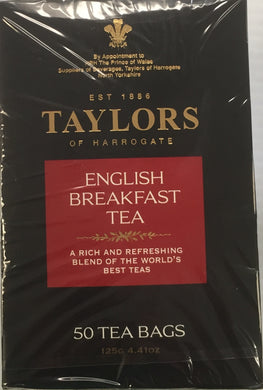 Taylors of Harrogate English Breakfast 50 Teabags