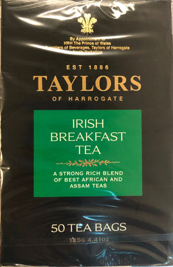 Taylors of Harrogate Irish Breakfast Teabags 50ct