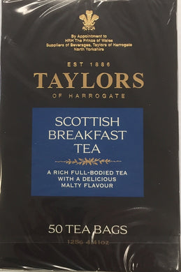 Taylors of Harrogate Scottish Breakfast Teabags 50ct