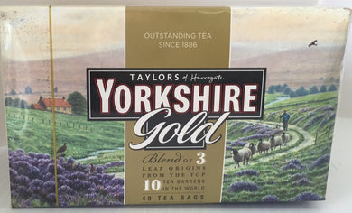 Yorkshire Gold Teabags 40ct