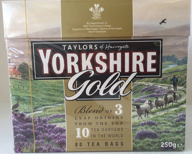 Yorkshire Gold Tea 80ct Bags