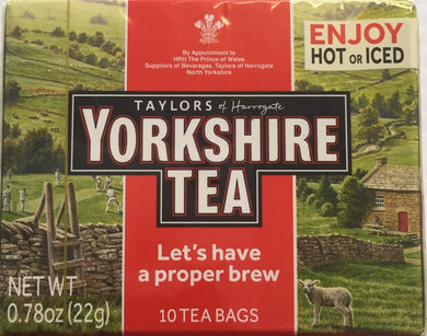 Yorkshire Red Teabags 10ct
