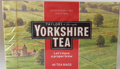 Yorkshire Red 40 Teabags