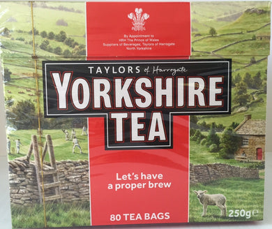 Yorkshire Red 80ct Teabags