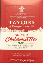 Taylors Of Harrogate Spiced Christmas Teabags 20ct - Christmas
