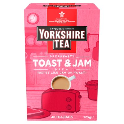 Yorkshire Tea Toast & Jam Brew 40 Teabags